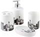 Набор аксессуаров для ванной Bisk 05980 -