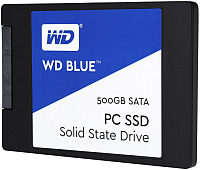 SSD диск Western Digital Blue 500GB (WDS500G1B0A) -