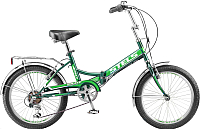 Велосипед Stels Pilot 450 2017 (13.5, черный/зеленый) -