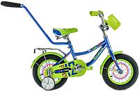 Детский велосипед с ручкой Forward Funky Boy 2017 (12, синий) -