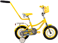 Детский велосипед с ручкой Forward Funky Boy 2017 (12, желтый) -