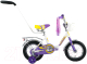Детский велосипед Forward Racing Girl 2016 (12, белый) -