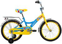 Детский велосипед Forward Altair City Girl 2017 (18, желтый/синий) -