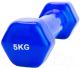 Гантель Bradex SF 0168 (5кг, синий) -