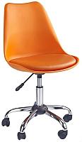 Кресло офисное Halmar Coco (оранжевый) -