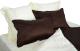 Комплект постельного белья Файбертек КПБ.44.С.О (Dark Brown/Beige) -