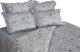 Комплект постельного белья Файбертек КПБ.14.С (20-0767-Grey/Light Grey) -