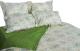 Комплект постельного белья Файбертек КПБ.25.С (20-0767-Blue/Iguana Green) -