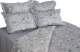 Комплект постельного белья Файбертек КПБ.25.С (20-0767-Grey/Light Grey) -