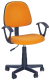 Кресло офисное Halmar Darian Bis (оранжевый) -