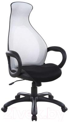 Кресло офисное Halmar Dolphin (серый/черный)