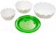 Набор салатников Berossi Лотос ИК 08901000 (снежно-белый) -