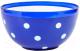 Салатник Berossi Marusya ИК 17210000 (синий полупрозрачный) -