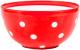 Салатник Berossi Marusya ИК 17212000 (красный полупрозрачный) -