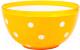 Салатник Berossi Marusya ИК 17318000 (оранжевый) -