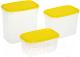 Набор контейнеров Berossi Venecia ИК 17755000 (лимон) -
