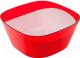 Салатник Berossi Valery ИК 18812000 (красный полупрозрачный) -