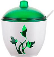 Сахарница Berossi Viola ИК 20111000 (зеленый полупрозрачный) -