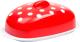Масленка Berossi Marusya ИК 21012000 (красный полупрозрачный) -