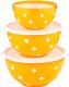 Набор салатников Berossi Marusya ИК 22418000 (оранжевый) -