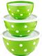 Набор салатников Berossi Marusya ИК 22448000 (луговой) -