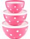 Набор салатников Berossi Marusya ИК 22449000 (фламинго) -