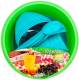 Набор пластиковой посуды Berossi Picnic Mini ИК 22637000 (бирюзовый) -