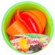 Набор пластиковой посуды Berossi Picnic Mini ИК 22640000 (мандарин) -