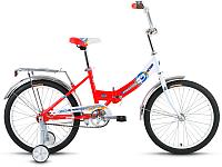 Велосипед Forward Altair City Boy 20 Compact 2017 (13, белый/красный) -