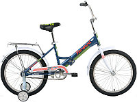 Детский велосипед Forward Timba Boy 2017 (13, синий) -
