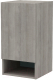 Шкаф навесной 3Dom Фореста РС160 (дуб аутентик серый) -