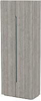 Шкаф 3Dom Фореста РС490 (дуб аутентик серый) -