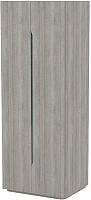Шкаф 3Dom Фореста РС700/2 (дуб аутентик серый) -