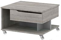 Журнальный столик 3Dom Фореста РС36М (дуб аутентик серый) -