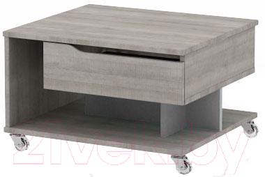 Журнальный столик 3Dom Фореста РС36М (дуб аутентик серый)