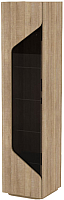 Шкаф-пенал 3Dom Фореста РС180ДС (дуб бардолино серый) -