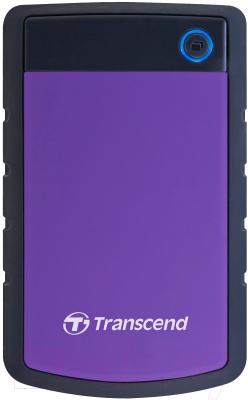 Внешний жесткий диск Transcend StoreJet 25H3P 3TB (TS3TSJ25H3P)