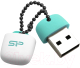 Usb flash накопитель Silicon Power Jewel J07 Aqua Green 8GB (SP008GBUF3J07V1B) -