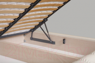 Двуспальная кровать ГрандМанар Карина КА-006.04 180x200 (Unica Palha)