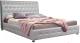 Двуспальная кровать ГрандМанар Карина КА-006.04 180x200 (Unica Palha) -