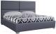 Двуспальная кровать ГрандМанар Катарина КА-001.04 180x200 (Ecotex 117) -