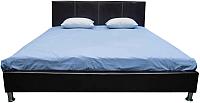 Двуспальная кровать ГрандМанар Эконом ЭК-011.03 160x200 (Unica Brown) -