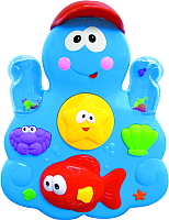 Развивающая игрушка Kiddieland Веселое купание с осьминогом и друзьями 035550 -