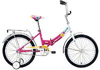 Велосипед Forward Altair City Girl 20 Compact 2017 (13, белый/фуксия) -