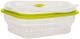 Контейнер MPM SPS-4/4 (прозрачный/зеленый) -