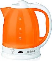 Электрочайник BBK EK1755P (белый/оранжевый) -