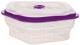 Контейнер MPM SPS-7/7 (прозрачный/фиолетовый) -