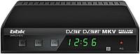 Тюнер цифрового телевидения BBK SMP021HDT2 (темно-серый) -