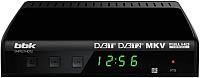 Тюнер цифрового телевидения BBK SMP021HDT2 (черный) -
