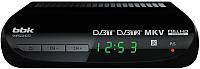 Тюнер цифрового телевидения BBK SMP022HDT2 (черный) -